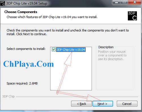 Download 3DP Chip - Tải, cập nhật, cài driver cho Máy tính, LapTop 3