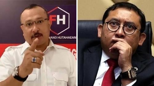Ferdinand Hutahaean Sentil Fadli Zon, Menohok Banget