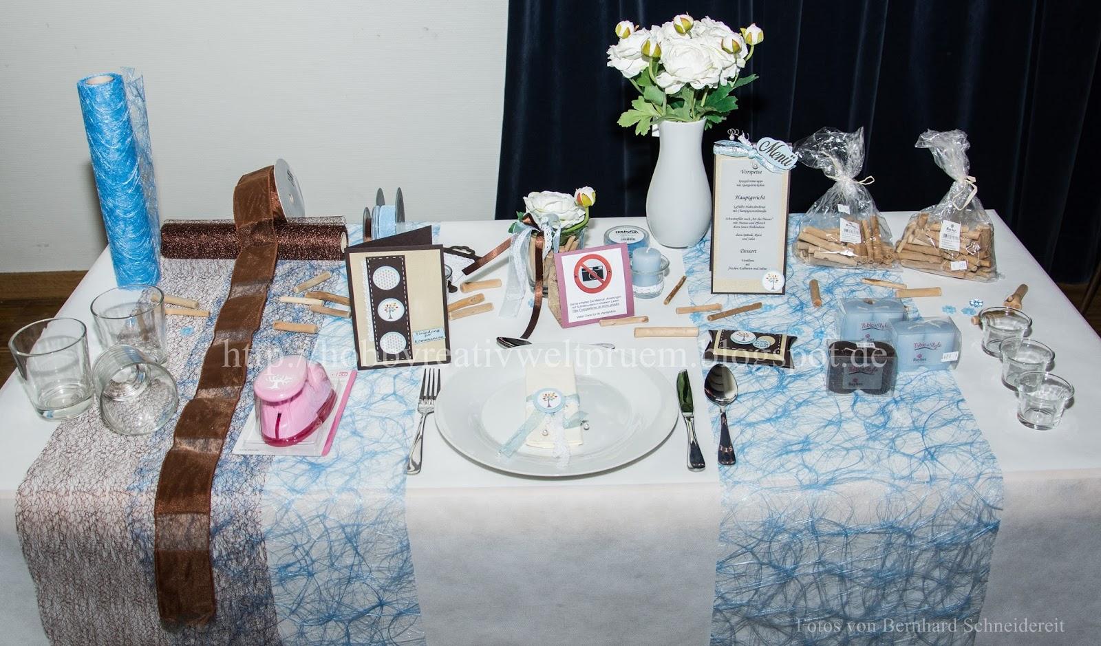 Tischdeko Blau Tischdeko Blau Deko Ideen