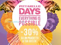 Logo Pittarello Days : - 30% su un prodotto a tua scelta