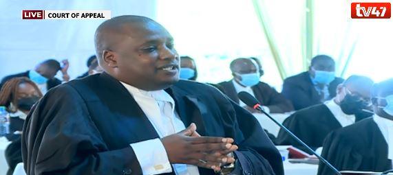 lawyer Elias Mutuma on BBI appeal photo