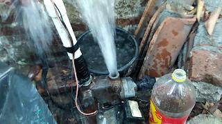 Semburan Air Cukup Kencang - Daya Hisap Pompa Air Yang Bagus