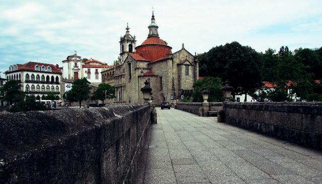 ponte e igreja de São Gonçalo em Amarente