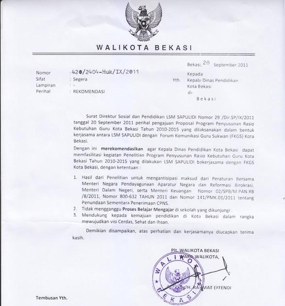Bang Imam Berbagi: Plt. Walikota Rekomendasikan Disdik