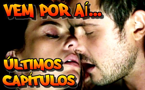 Vivi (Paolla Oliveira) e Chiclete (Sérgio Guizé) ficam juntos (Imagem: Reprodução/Montagem/TV Globo)
