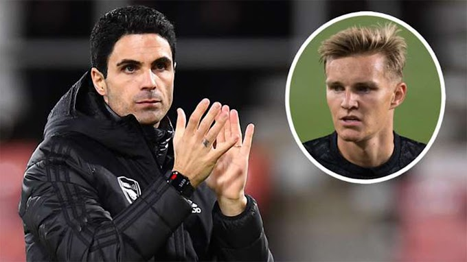 Arteta: Odegaard? I don't know anything, but I might get an important call today
