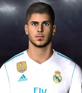 PES 2017 Faces Marco Asensio by Facemaker Ahmed El Shenawy