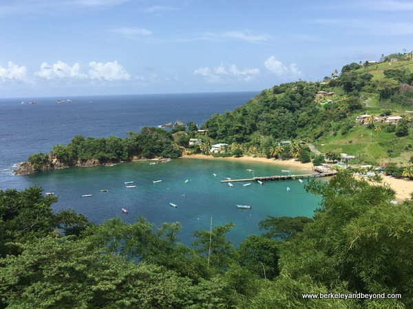 Pariatuvier Bay in Tobago