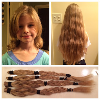 Montgomery Catholic Second Grader Donates to Wigs for Kids Mission 1