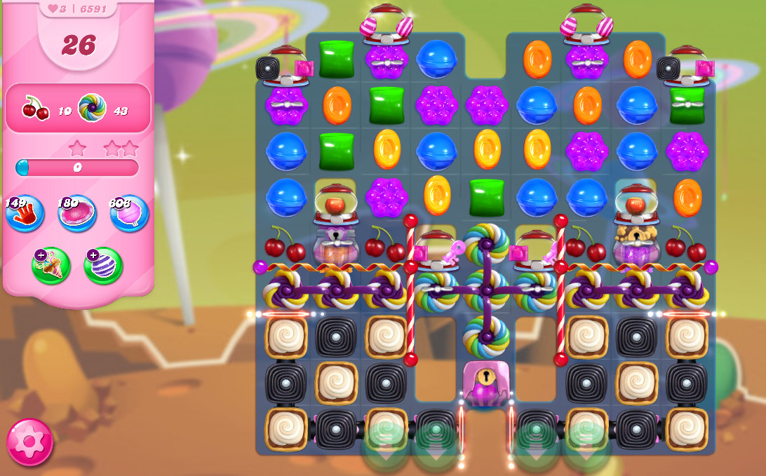 Candy Crush Saga level 6591