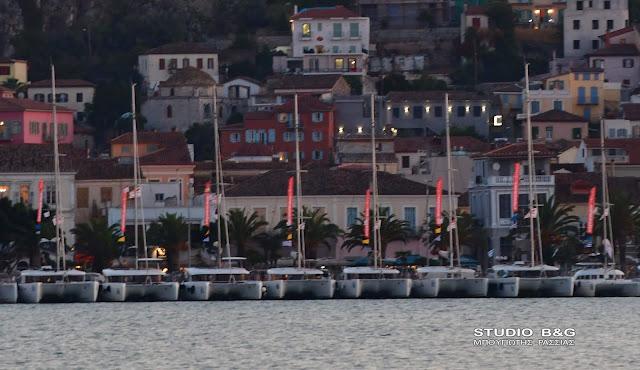 Στο Ναύπλιο για την τελετή λήξης το 10ο Catamarans Cup international Regatta