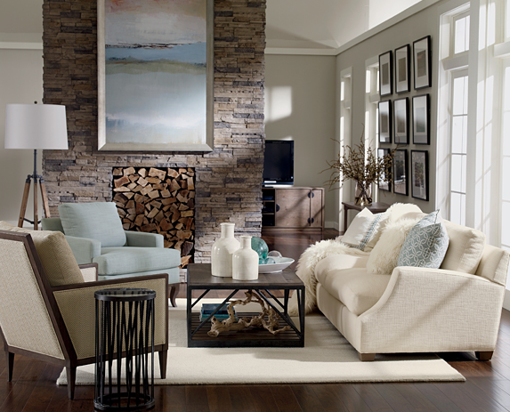 Best Rustic Bedroom Ideas Defined For High Inspiration: Color Changes Everything: Ethan Allen Lynn Sofa