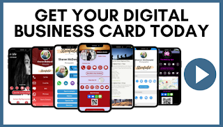 Digital business cards for networking