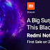 Xiaomi Redmi Note 6 Pro First Sale will be Live on Black Friday (12 Noon, 23rd November)