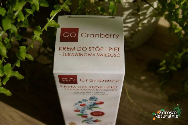 Go Cranberry - Krem do stóp i pięt żurawinowa świeżość