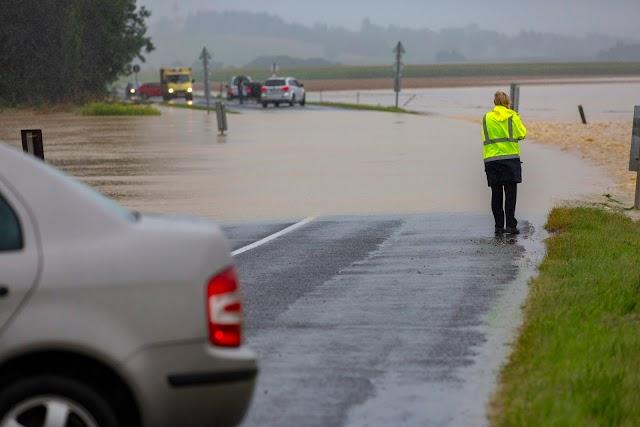 Utakat kellett lezárni Somogyban a vihar pusztítása miatt