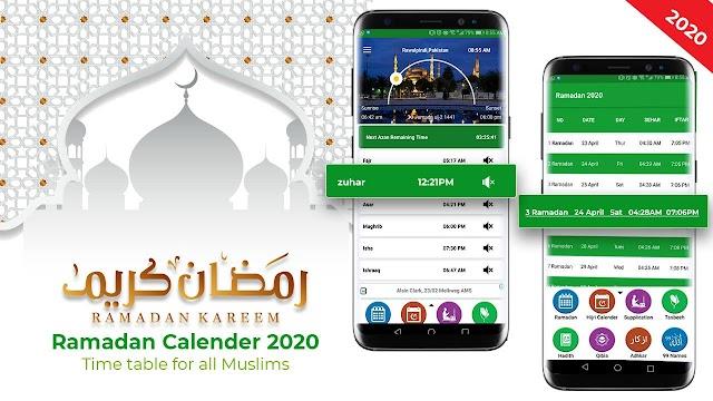 أفضل تطبيقات رمضان 2020 RAMADAN