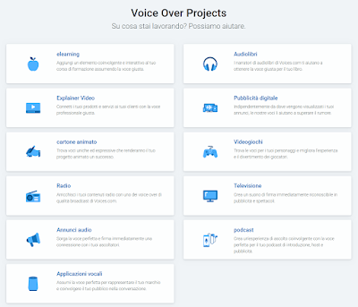 Voices.com: Guadagnare online con il Doppiaggio e con la Voce!