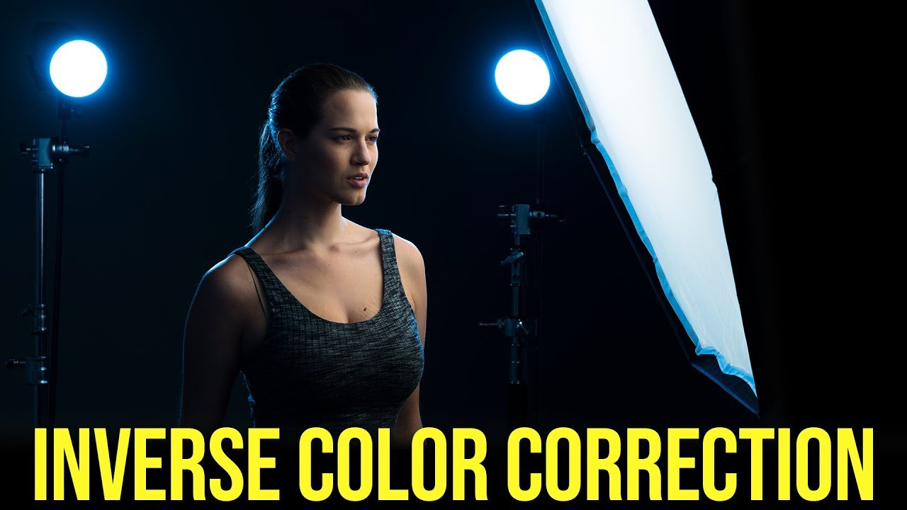 Inverse Color with Correction Gels