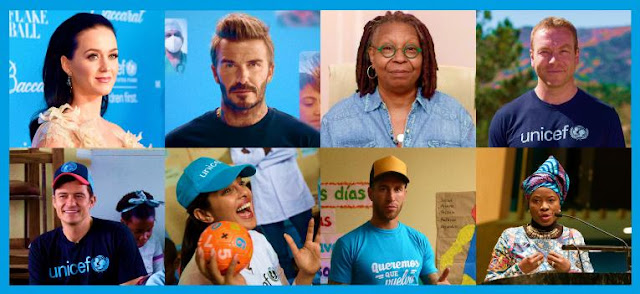 Photos of 8 of many Goodwill Ambassadors