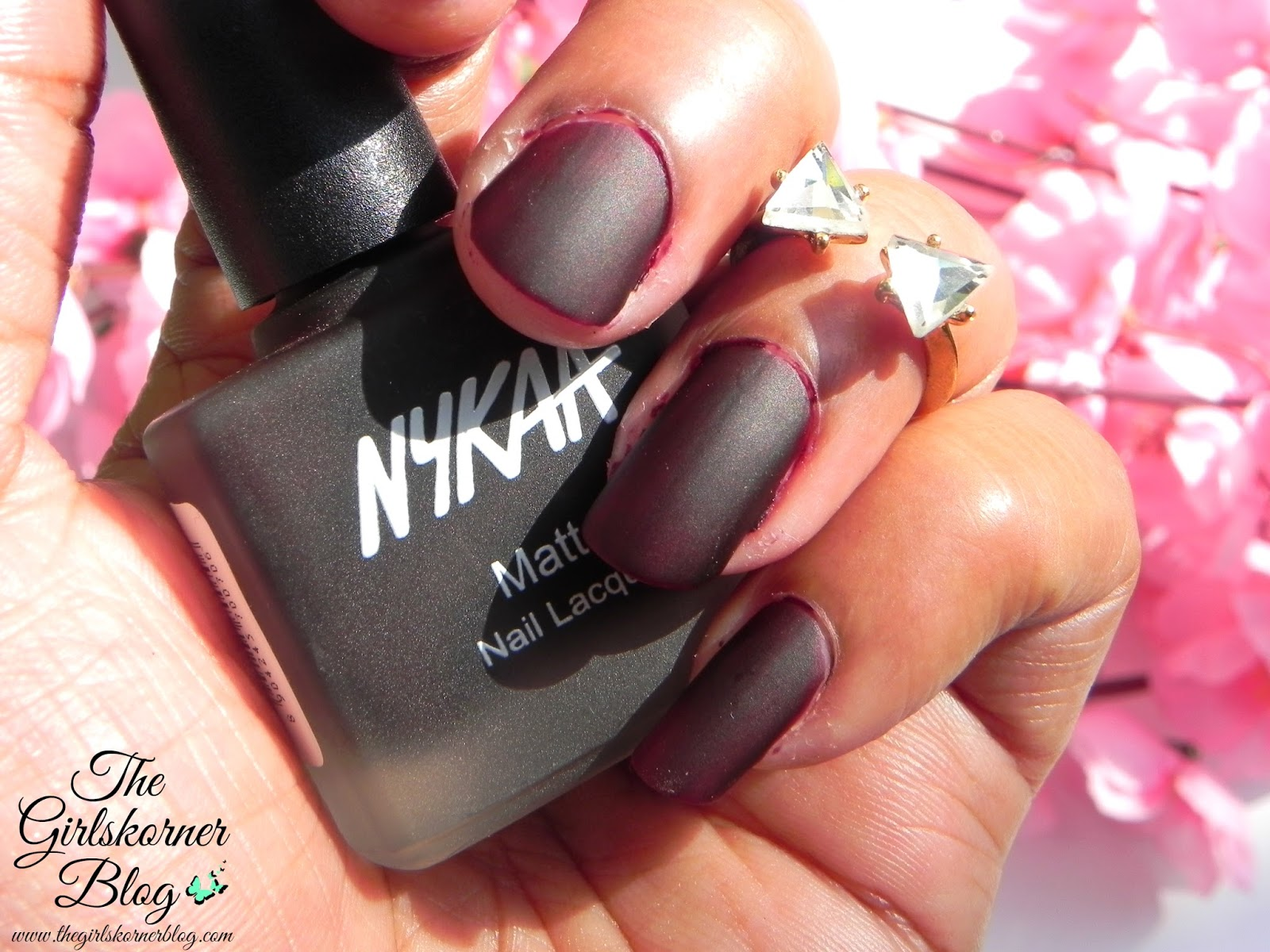 My Nykaa Nail Enamel & Matte Nail Lacquer collection Review ...