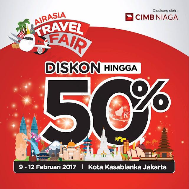 Jadwal AirAsia Travel Fair 2017 di KoKas