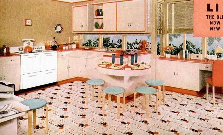 My Pretty Baby Cried She Was A Bird: Nairn Linoleum Floors