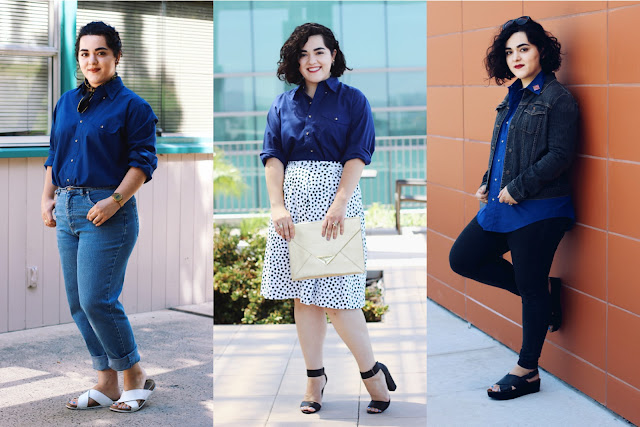 3 Ways to Style An Oversized Shirt