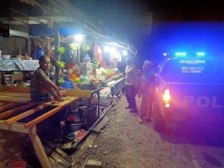 Antisipasi Kejahatan, Personel Polsek Maiwa Polres Enrekang Laksanakan Patroli Malam