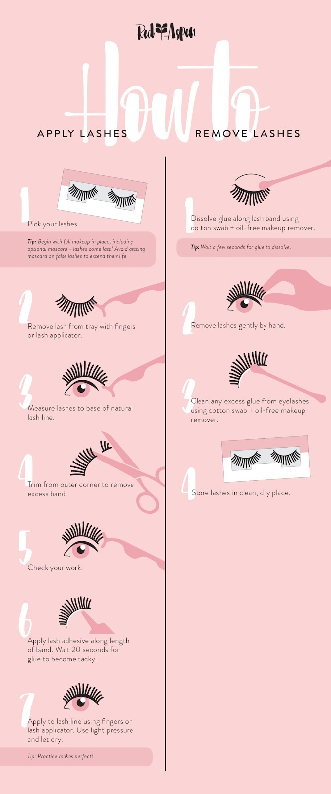4e6f15a88cc I asked around a little on Instagram about people's experience with false  lashes and they shared similar ...