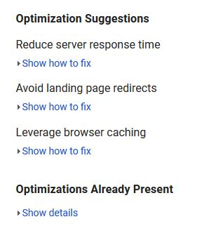 Site Optimization Tips