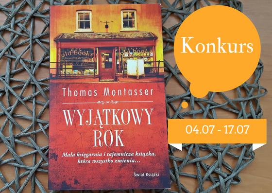 """KONKURS """"Wyjątkowy rok"""" Thomas Montasser"""