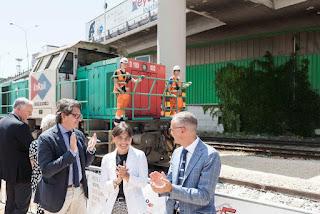 Trieste, inaugurazione del varco 4 ferroviario