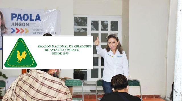 Paola Angon sigue sumando importantes adeptos a su proyecto político