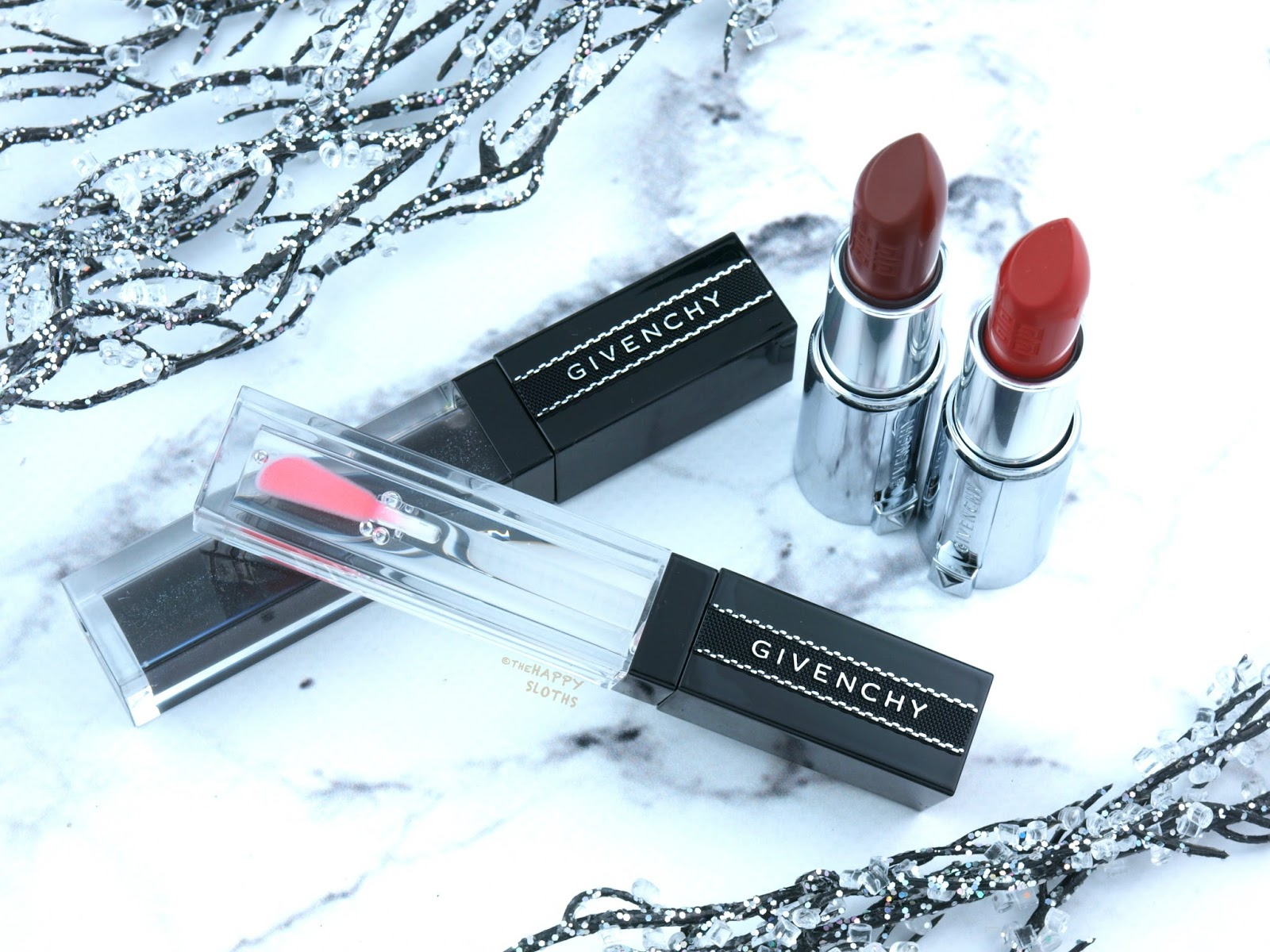 Givenchy | Le Rouge Mat Lipstick & Gloss Interdit Vinyl: Review and Swatches