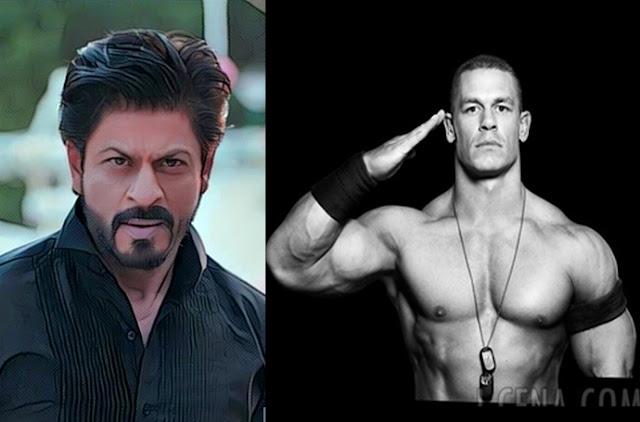 John Cena is a fan of Shah Rukh Khan's wise words