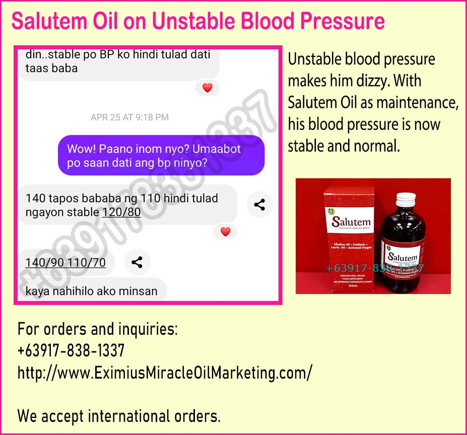 How To Treat Unstable Blood Pressure With VCO