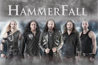 Photo des membres de Hammerfall
