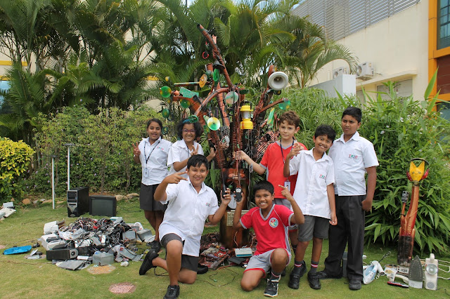Limca Book of Records Lauds TRIO World Academy's E-Waste Initiative