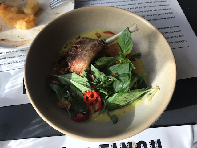 Ox & Finch, Glasgow, Sharing Plates, Food Bloggers, Yellow Duck Curry, Crispy Rice