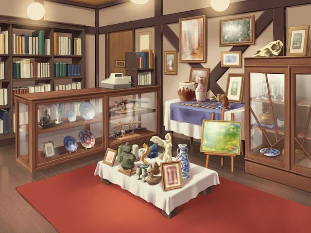 Japanese Antiques Shop (Anime Background)