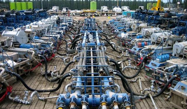 equipamiento de fractura hidraulica