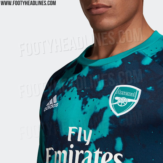 premium selection be7f0 58dfa New Arsenal adidas kits: Launch date, leaked images of home ...