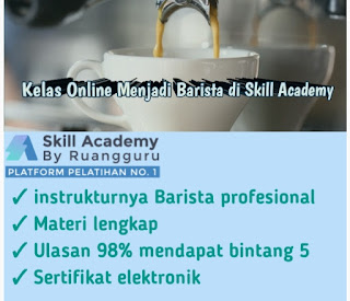 Keunggulan kelas barista profesional di skill academy