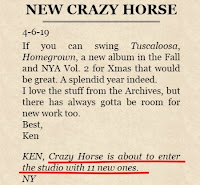 Neil Young & Crazy Horse - Album 2019
