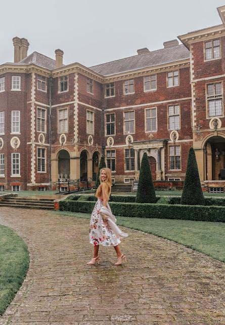 National Trust Ham House fashion photoshoot