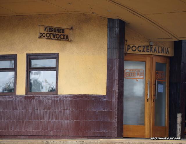 poczekalnia peron Wawer stacja kolejowa modernism modernizm Kazimierz Centnerszwer kolej wiata poczekalnia linia otwocka architektura architecture