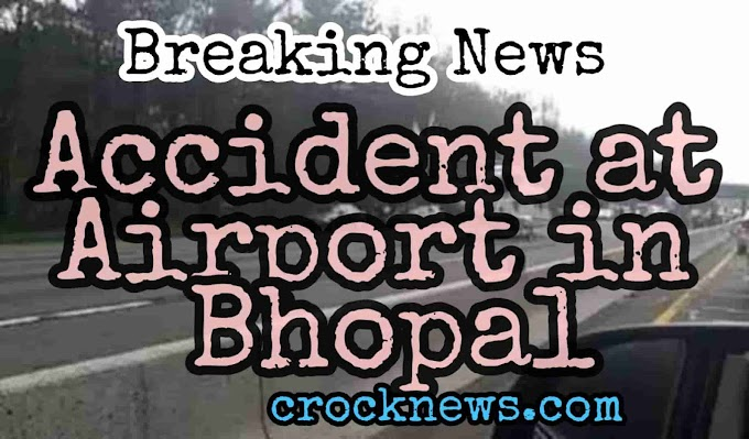 Accident in airport, young man injured after falling from airlift