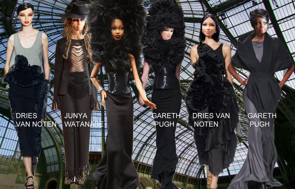 Fashion Doll Stylist Doll 39 S Eye View Paris Spring 39 14 Trends The Art Scene