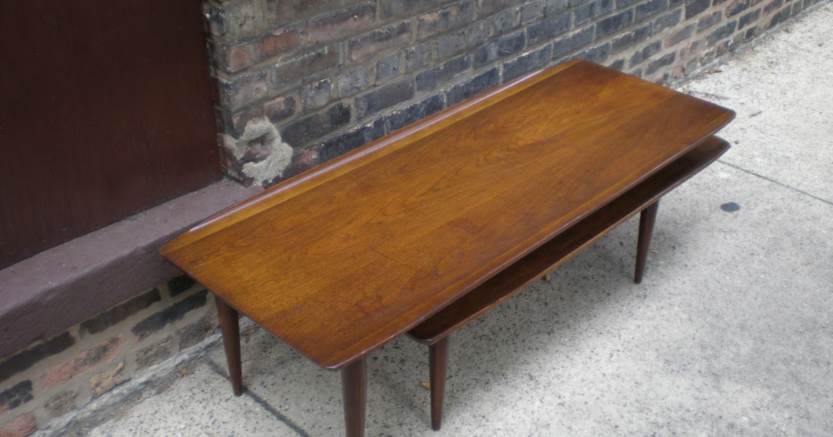 Mid Century Modern Coffee Table Height